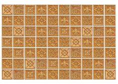 Dimex Fototapeta MS-5-0274 Béžová mozaika 375 x 250 cm