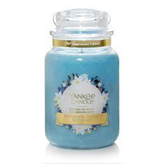 Yankee Candle Aromatická sviečka veľká Narcis po daždi (Splash of Rain) 623 g