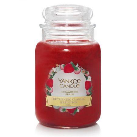 Yankee Candle Strawberry illatgyertya (Strawberry) 623 g