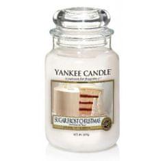 Yankee Candle Aromatyczna świeca duża Boże Narodzenie z cukrową polewą(Sugar Frost Christmas) 623 g