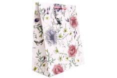 """Sifcon Dárková taška """"Secret Garden"""", 33x26,7cm, růžová"""
