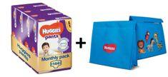 Huggies Pants 4 (9-14 kg) Jumbo 144 ks (4x36 ks) - Měsíční balení