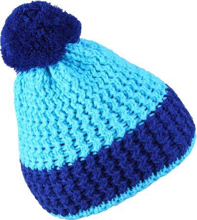 Sherpa czapka dziecięca MAGIC 3 - 6 neon turkus