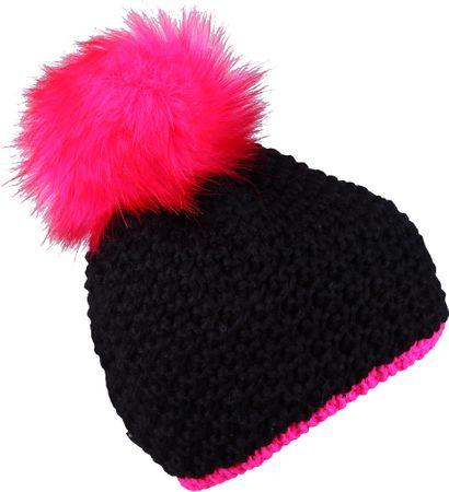 Sherpa Dívčí čepice NANCY 6 - 9 neon pink