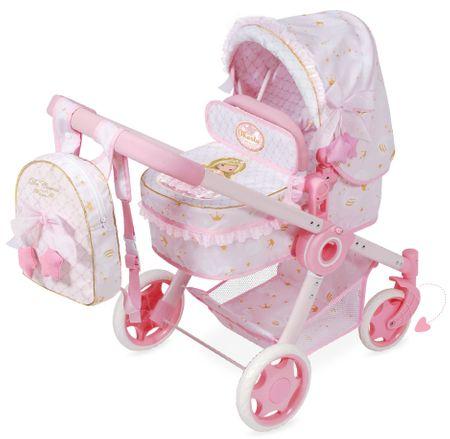 DeCuevas zložljivi otroški voziček za punčke 3 v 1 Maria 2019-S