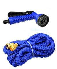 GEKO Zahradní hadice smršťovací, 5m-15m, 7 funkcí, dvojitý pletenec