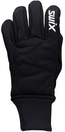 Swix otroške rokavice Pollux, S, črne