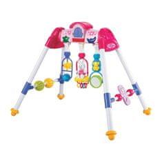 Baby Mix Dětská hrající edukační hrazdička De Lux Baby Mix pink