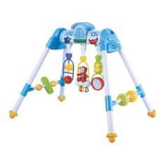 Baby Mix Dětská hrající edukační hrazdička De Lux Baby Mix blue