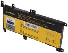 PATONA Baterie pro notebooky ASUS X556, 4200 mAh, Li-Pol, 7,6 V, C21-N1509 (PT2826)
