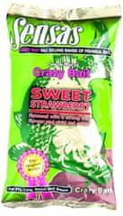 Sensas krmítková směs Crazy Bait Sweet Strawberry 1kg