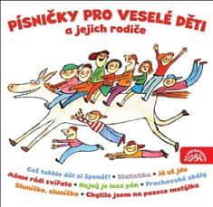 Písničky pro veselé děti a jejich rodiče (2x CD) - CD
