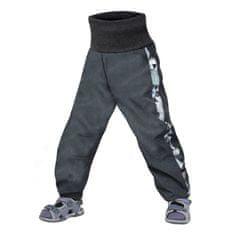 Unuo chlapčenské softshellové nohavice s fleecom Street