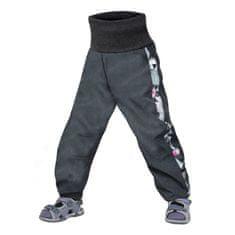 Unuo dievčenské softshellové nohavice s fleecom Street