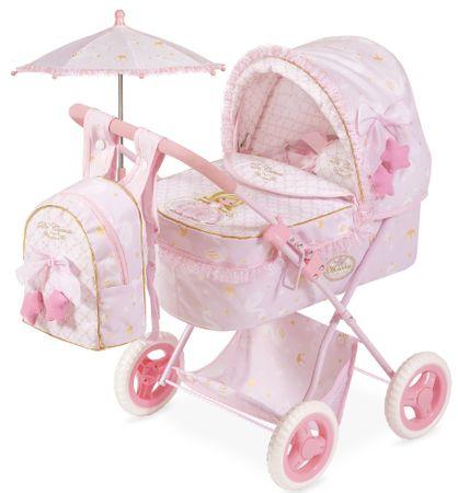 DeCuevas zložljivi otroški voziček za punčke 3v1 Maria 2019-M