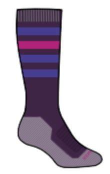 Icebreaker otroške smučarske Merino nogavice SKI+, 24 - 26, vijolične