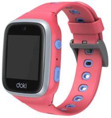 doki dokiwatch dokiPal inteligentny zegarek dla dzieci 4G LTE z wideofonem, różowy