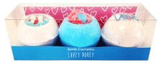 Bomb Cosmetics Mennyei szeretet kozmetikai készlet (ø 7,5 cm) 3 db