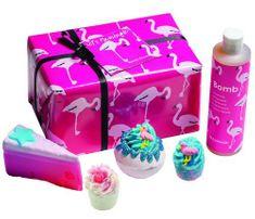 Bomb Cosmetics Flamingo fürdő kozmetikai készlet