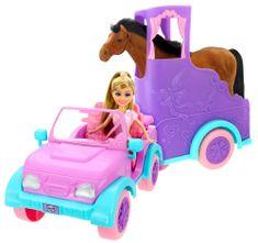 Alltoys przyczepa dla koni Sparkle Girlz