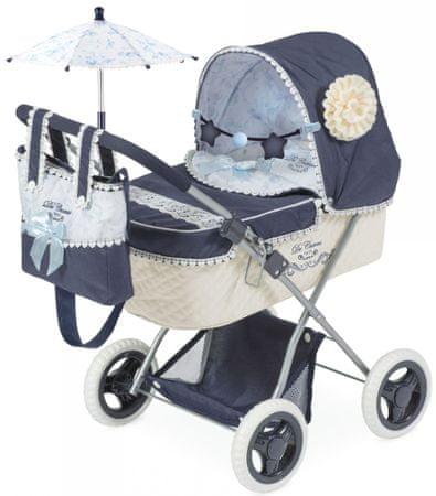 DeCuevas zložljivi otroški voziček za punčke 3 v 1 Maria 2019-V