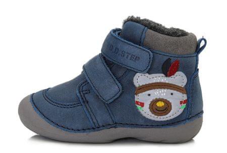 D-D-step zimska obutev 015-189A, 24, modra