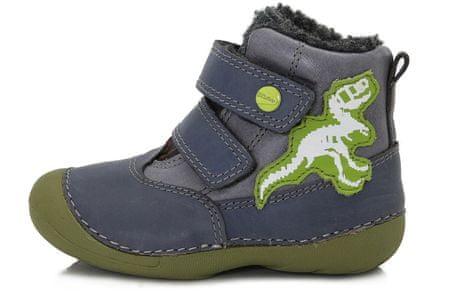 D-D-step téli cipő 20 kék