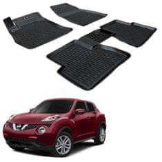 SCOUTT 3DSRM gumiszőnyeg Nissan Juke 2010-2018