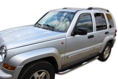 Team Heko Okenné deflektory Jeep Cherokee KJ 5D 2001-2007 2 ks predne