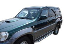 Team Heko Ofuky oken Hyundai Terracan 5D 2001-2007 4ks přední+ zadní