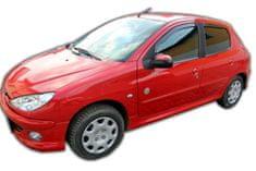 Team Heko Ofuky oken Peugeot 206 5D 1998 - 2005 4 ks predne+zadne