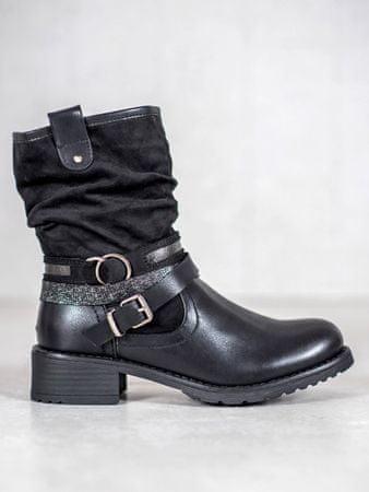 Női bokacipo 59057, fekete, 38