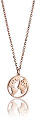 Emily Westwood Stylový náhrdelník s motivem světa WN1014R