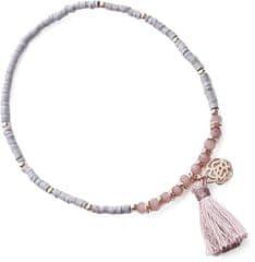 JVD Vasárnap rózsaszín gyöngy karkötő SVLB0052X20R200 ezüst 925/1000