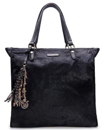 L'Atelier du Sac torbica Agatha 9233, črna s pashminou