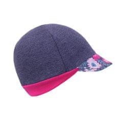 Unuo dievčenská čiapka so šiltom Street Kvetinky