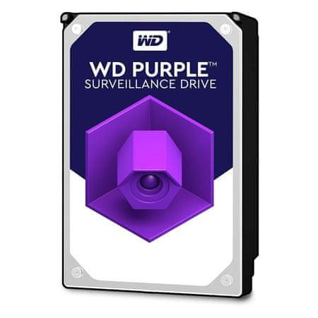 """Western Digital Purple trdi disk 6 TB, 3,5"""" SATA3, 5400 rpm (WD60PURZ)"""