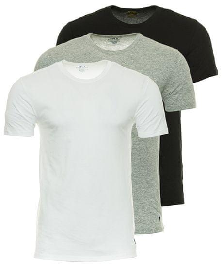 Ralph Lauren trojité balenie pánskych tričiek M viacfarebná
