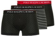Ralph Lauren trojité balenie pánskych boxeriek 714662050039