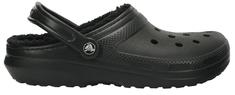 Crocs Pantofle Classic Lined Clog Black/Black 203591-060