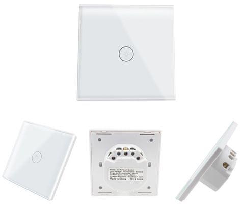 Inteligentny przełącznik Wi-Fi IQ-Tech SmartLife IQS001, inteligentne oświetlenie, asystent głosowy, sterowanie głosowe, Siri, Alexa, Google Home, IFTTT, aplikacje, iOS, Android
