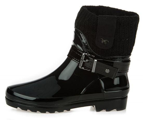 Mustang dámská kotníčková obuv 3118507 38 černá