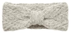 Pieces Dámska čelenka PCHAILIE Headband Light Grey Melange