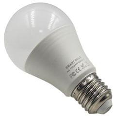 iQ-Tech SmartLife WB011, Wi-Fi LED žiarovka E27, 110-240 V, 9 W, biela