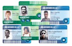 REXhry Detektiv: Po stopách zločinu - plastové karty vyšetřovatelů