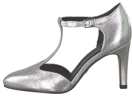 Tamaris Női alkalmi cipő 1 1 24426 33 941 Silver (méret 38)