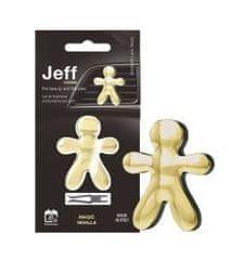 JEFF JEFF osvěžovač vzduchu zlatý chrome - Magic Vanilla