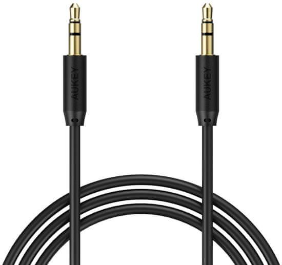 Aukey Audio kabel, 1,2m LLTS70940 - černý