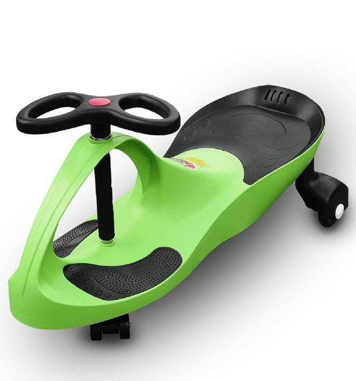 RIRICAR Samochodiace autíčko RIRICAR s PU koly limetka