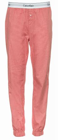 Calvin Klein ženski spodnji del pižame JOGGER, XL, roza